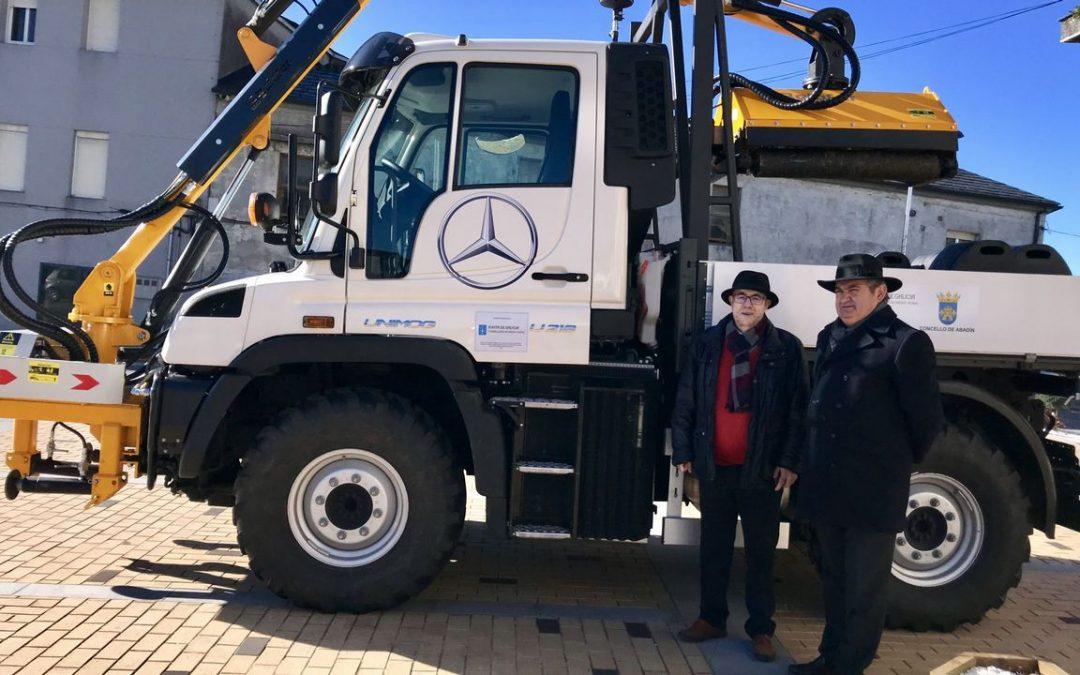 El Concello compró un camión para limpieza y para prevención de incendios